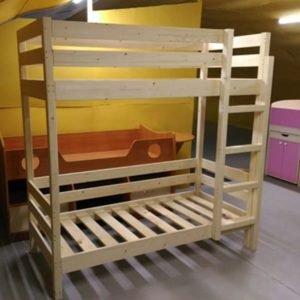Кровать двухярусная из дерева в Питере