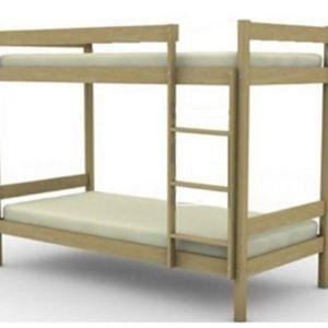 Деревянная двухярусная кровать СПБ